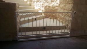 white gate wrought iron  - General Metal Works Malta