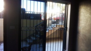 Security gate wrought iron  - General Metal Works Malta