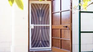 White security door  - General Metal Works Malta