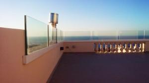outdoor glass separators  - General Metal Works Malta