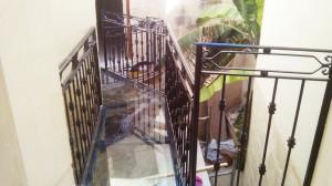 classic black wrought iron hand railing - General Metal Works Malta