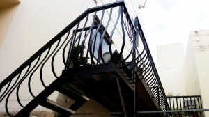 Black wrought iron railing  - General Metal Works Malta