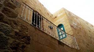 Rustic white hand railing balcony  - General Metal Works Malta