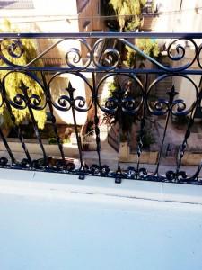 Rustic balcony hand railing  - General Metal Works Malta