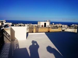 Roof perimeter black railing wrought iron  - General Metal Works Malta