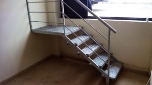 stainless steel hand railing  - General Metal Works Malta