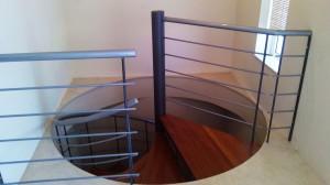 spiral stair case wrought iron  - General Metal Works Malta