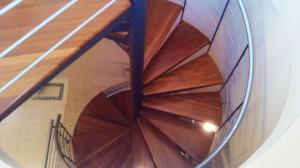 spiral stair case  - General Metal Works Malta