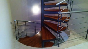 spiral staircase wrought iron  - General Metal Works Malta