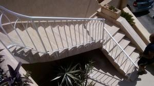 outdoor hand railing staircase  - General Metal Works Malta