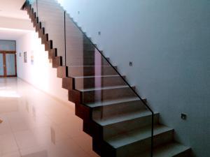 wrought iron white railing  - General Metal Works Malta