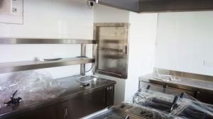 Stainless steel catering work bench - General Metal Works Malta