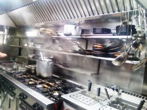 Stainless steel catering kitchen - General Metal Works Malta