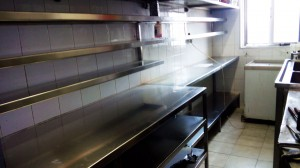 Stainless Steel Shelvings industrial - General Metal Works Malta