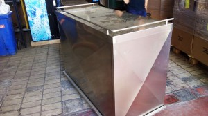 Stainless Steel portable bar - General Metal Works Malta