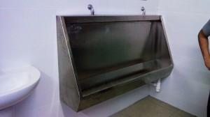 Stainless Steel urinal - General Metal Works Malta