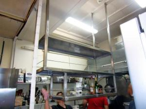 Stainless steel over-head storage industrial - General Metal Works Malta