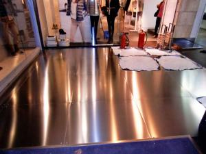 stainless steel flooring - General Metal Works Malta
