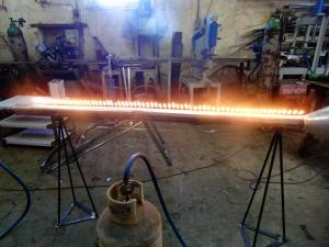 stainless steel pyro - musical project - General Metal Works Malta
